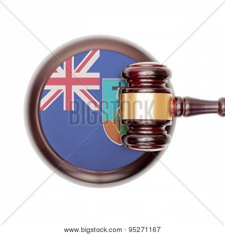 National Legal System Conceptual Series - Montserrat