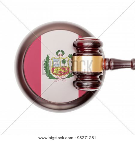 National Legal System Conceptual Series - Peru