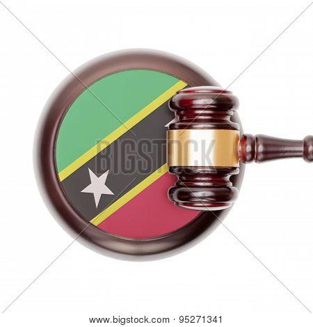 National Legal System Conceptual Series - Saint Kitts And Nevis