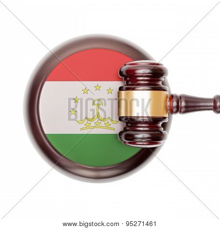 National Legal System Conceptual Series - Tajikistan