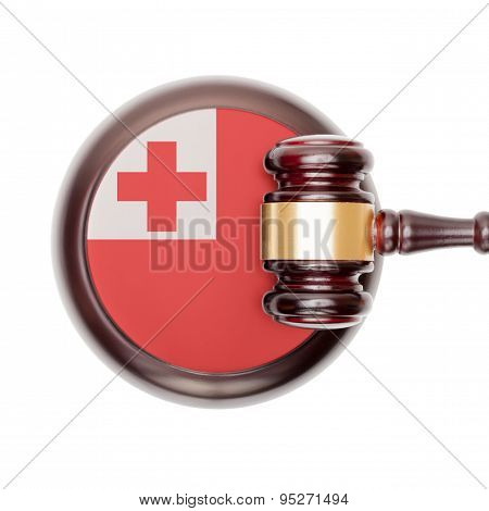 National Legal System Conceptual Series - Tonga