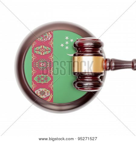 National Legal System Conceptual Series - Turkmenistan