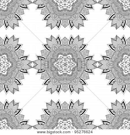 Seamless Geometric Pattern In Oriental Style