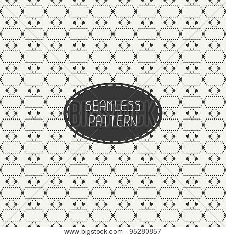 Geometric monochrome abstract seamless polygon pattern. Wrapping paper. Paper for scrapbook. Tiling.