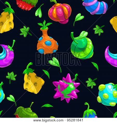 Bizzare Fruits Pattern