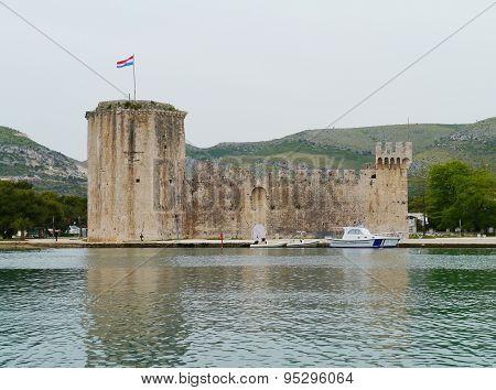 The castle of Trogir in Croatia