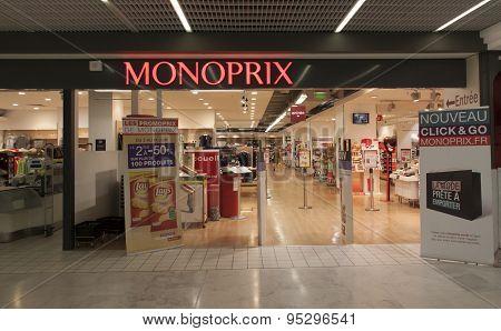 Monoprix  A Retail Store