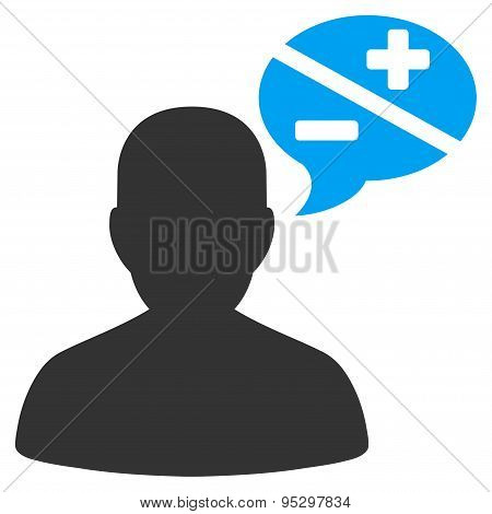 Arguments icon from Business Bicolor Set