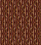 foto of triquetra  - Chocolate color celtic knot triquetra background vector - JPG