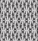 stock photo of triquetra  - Abstract silver celtic knot triquetra background vector - JPG