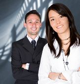 foto of business-partner  - business entrepreneurs with a corporate background  - JPG