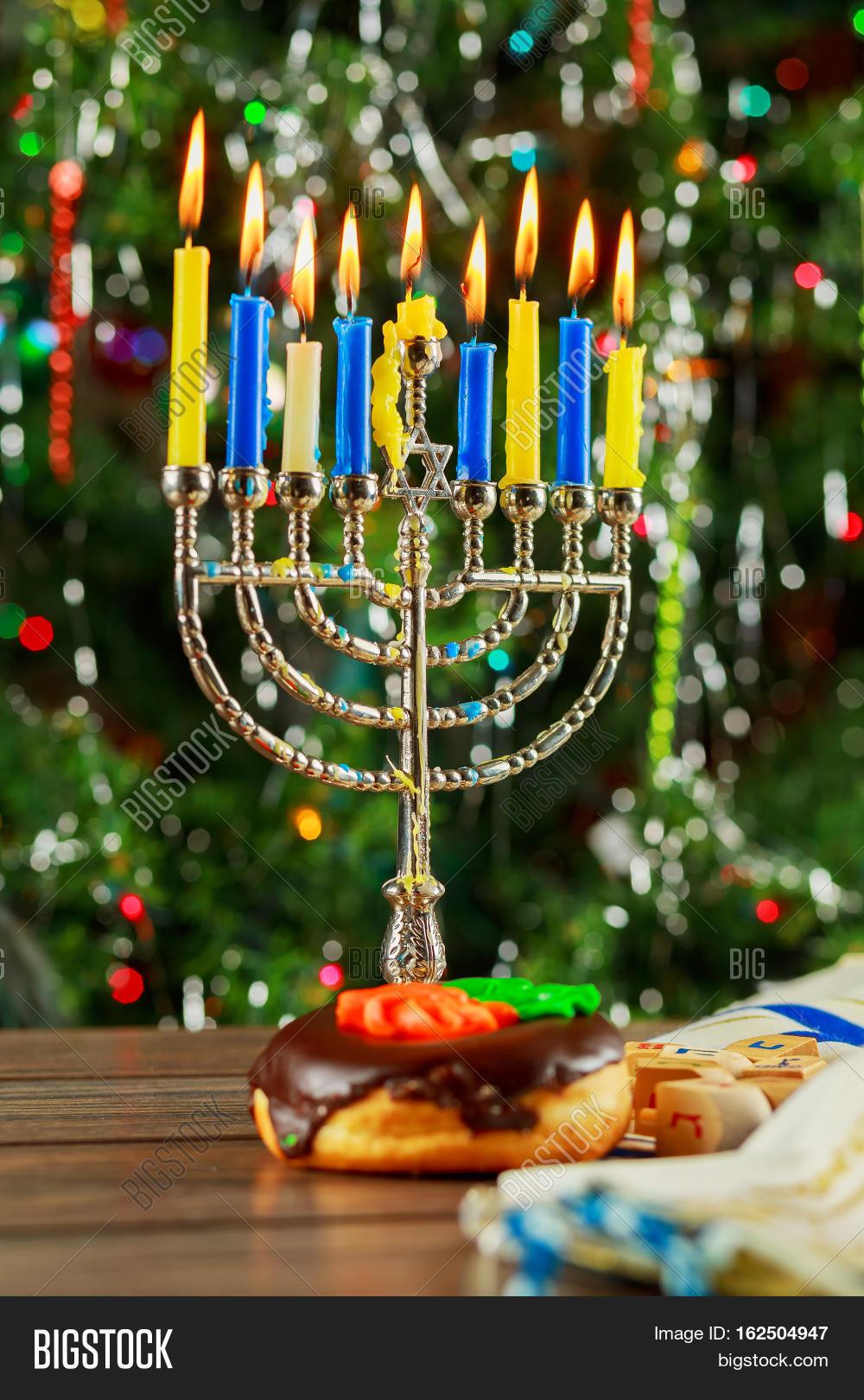 Jewish holiday symbol hanukkah image photo bigstock jewish holiday symbol hanukkah background with menorah biocorpaavc Image collections