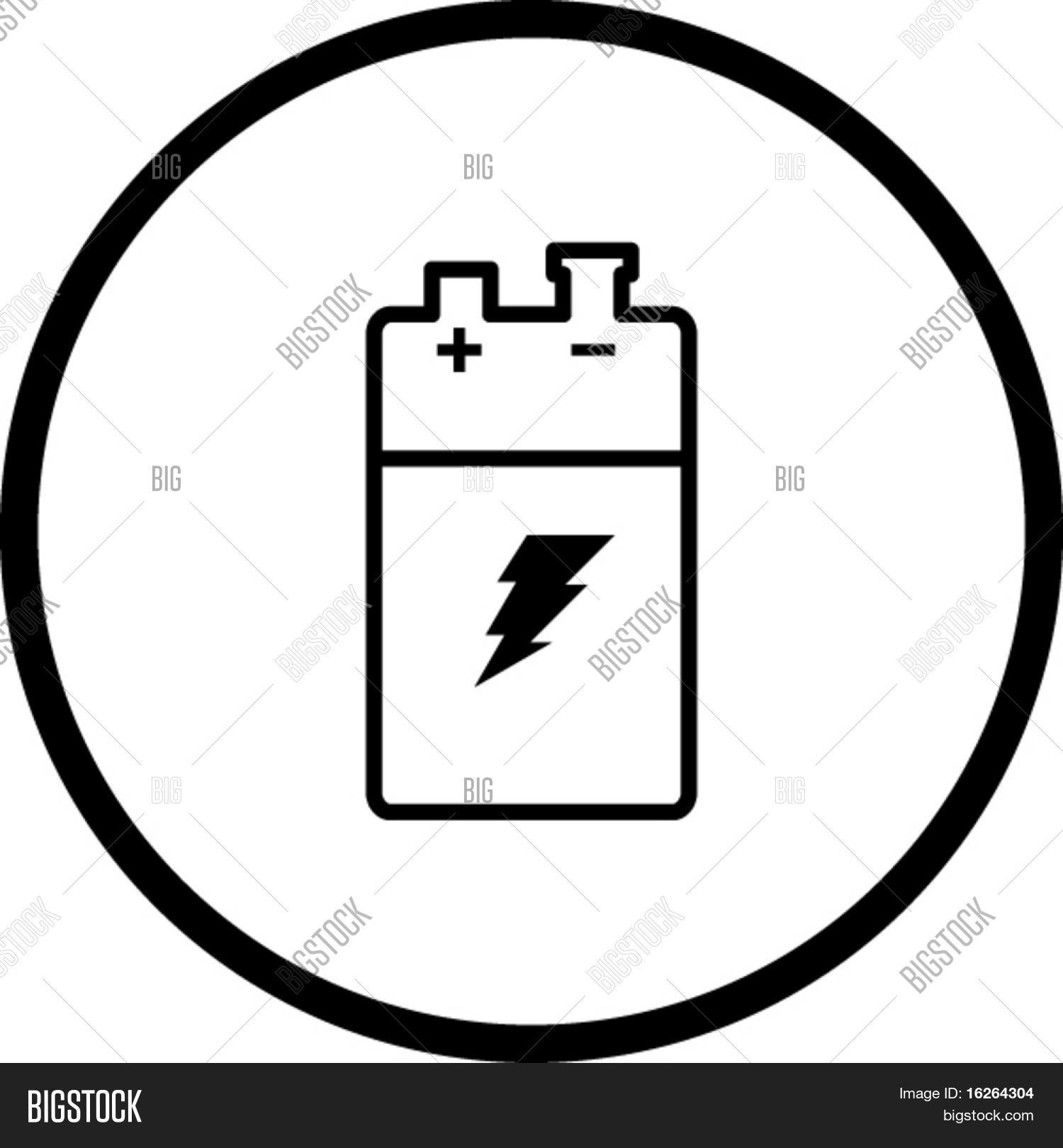What is the symbol for battery dolgular component electrical symbol for a battery farah science may icon biocorpaavc