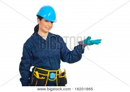 Worker Woman Presentation
