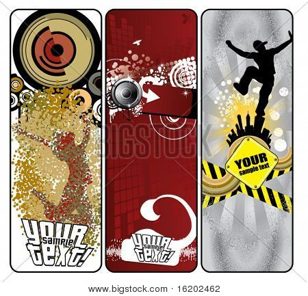 Stylish banners