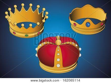 Coronas De Los Tres Reyes Magos