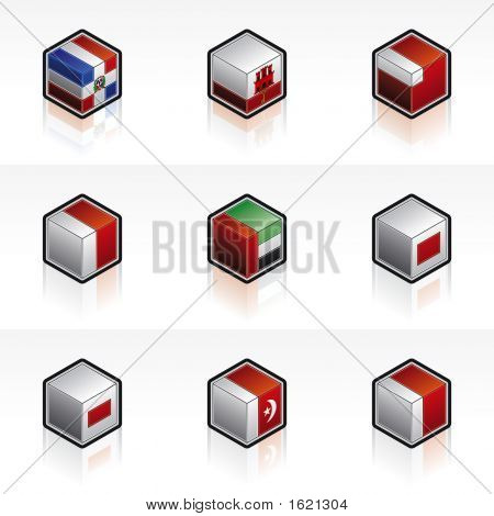 Flag Icons Set - Design Elements 59A