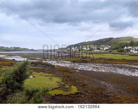 Landscape near Waterstein, north of Neist point on the isle of Skye