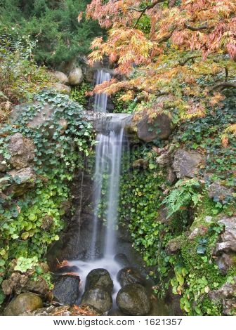 Transparent Falls.