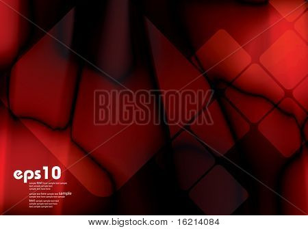 Dark red background with color gradient for brochure
