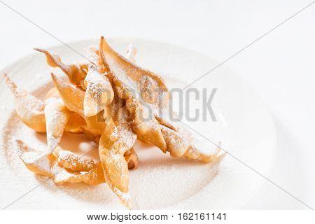 Sweet thin crispy cookies