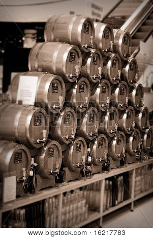 Brandy and Whiskey Barrels