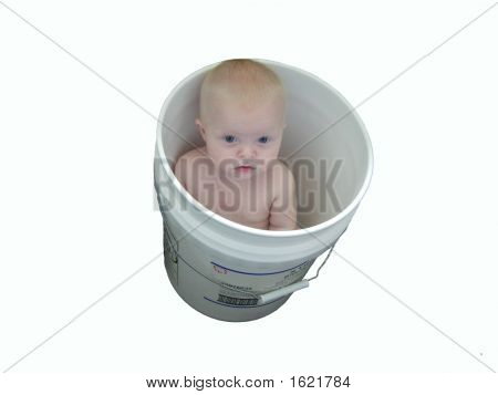 Baby In A Bucket Good