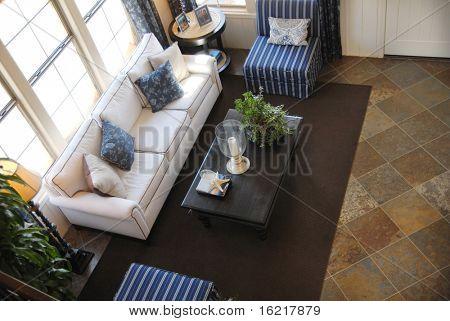 Living Room Looking Down
