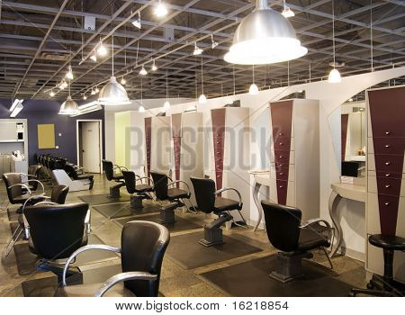 Fashionable Hair Salon
