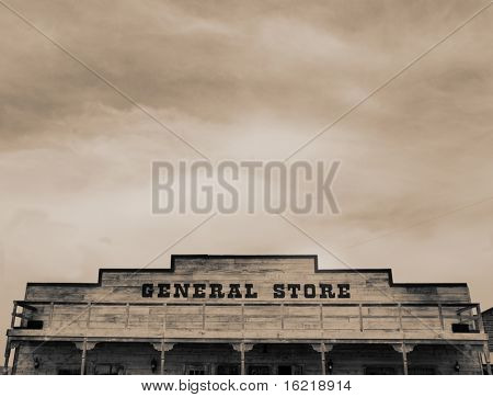 Genral Store in The Wild West of Arizona