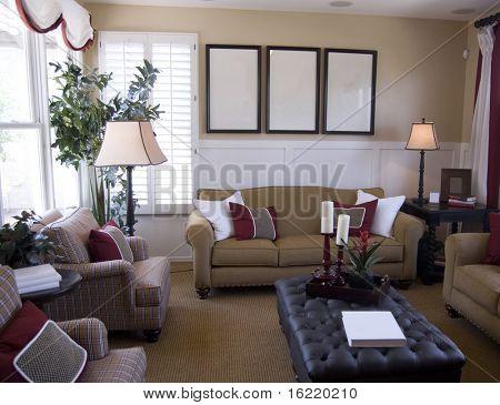 Interior Design in modern Upscale Home