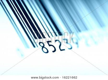 Código de barras legible por máquina para el sistema AIDC