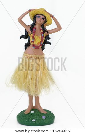 Hula Hawaiian Doll