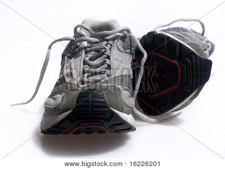 Zapatillas desgastadas entrenadores