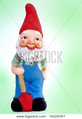 Estatua del jardín de Gnome kitsch