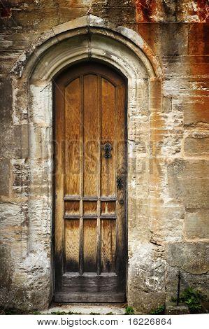 Secret ancient doorway