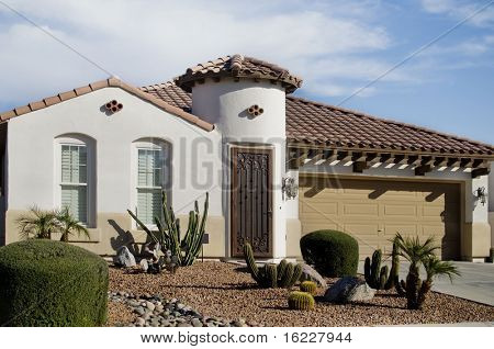 Beautiful new home in Arizona