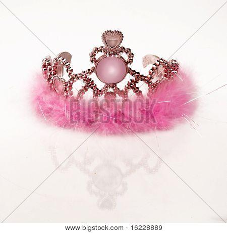 Pink girls tiara