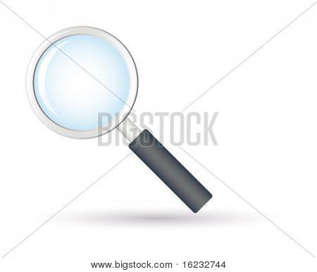 Magnifier. Vector
