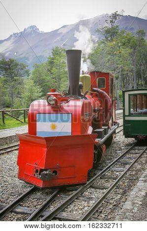 Train At  National Park