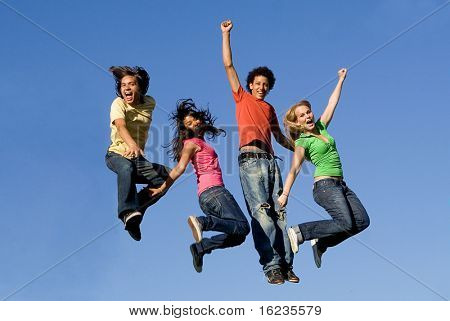 group jumping