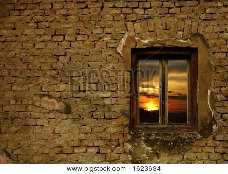 Window Sunset