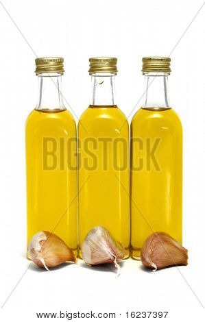 oil olive and  garlic