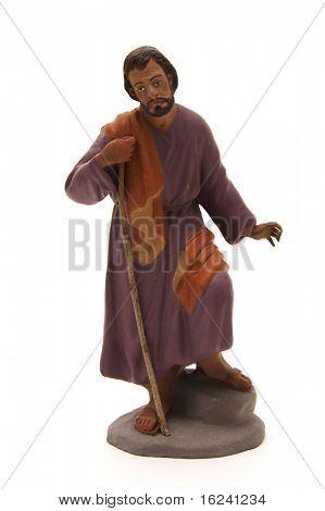 Abbildung der St, Josef, die Krippe zu vertreten