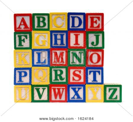 Alphabet Bricks