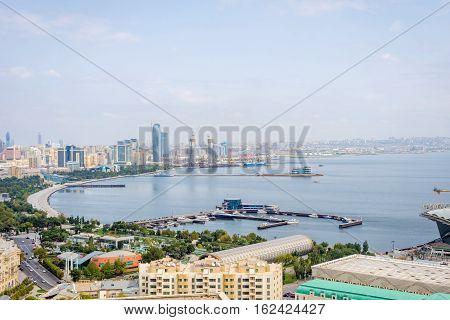 View Over Baku, Azerbaijan