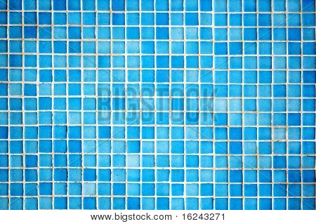 background of a geometric pattern made in mosaic