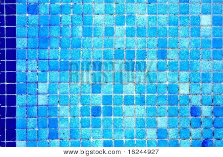 background made of a closeup of the bottom of a swimming pool