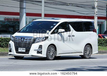 Private Toyota Vellfire Car.