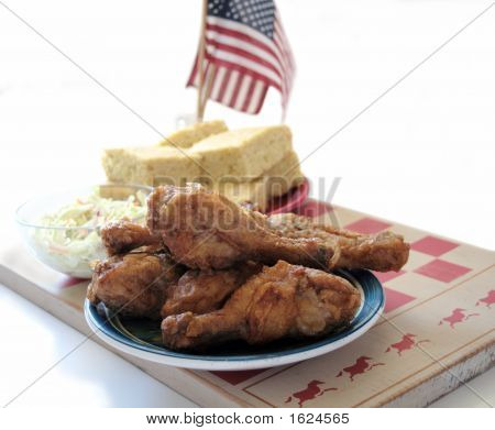 Fried Chicken And Cornbread